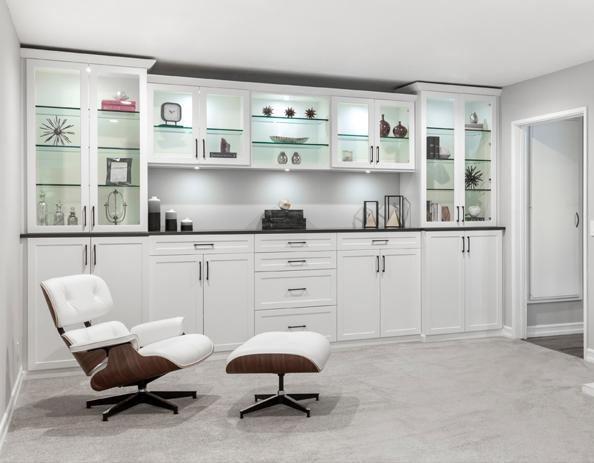 Clean, organized and uncluttered