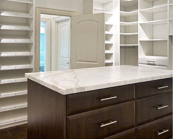 Closet Envy offers professional installation service